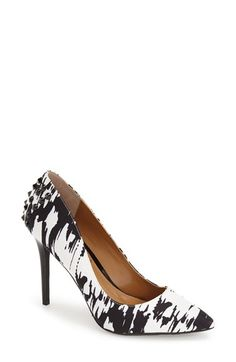J. Reneé 'Fizzle' Print Pointy Toe Pump (Women)