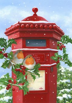Lisa Alderson - LA - robins and postbox.jpg