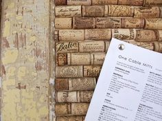 Make a Memo Board from Upcycled Wine Corks. Yet another excuse to drink more wine! Memo Boards, Cork Bulletin Boards, Cork Boards, Diy Cork Board, Wine Bottle Corks, Bottle Stoppers, Wine Cork Crafts, Decoration, Diy Design