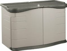 Rubbermaid 3753 Split-Lid Deck Storage Shed 18-Cubic Feet by Rubbermaid. $270.27. Lockable doors (lock not included). Won't rust, chip, crack or peel. Easy to assemble. 36 inches high, 55 inches wide, 28 inches deep; 54 pounds. Rugged high-density polyethylene construction. The Rubbermaid 3753 Split-Lid Deck Storage Shed - 18 cu. ft. has a hinged roof split-lid roof with a prop bar so that you can easily raise one side or the other. This storage shed has eight interlocking ...