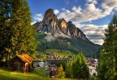 San Cassiano, Dolomite Mountains.Italy