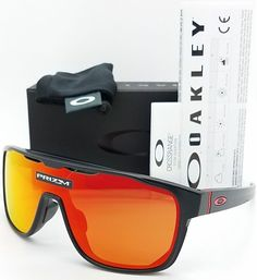 6a3338dbfd Oakley Crossrange Shield sunglasses Black Prizm Ruby OO9390-0831 red Asian  Fit  fashion  clothing  shoes  accessories  mensaccessories ...