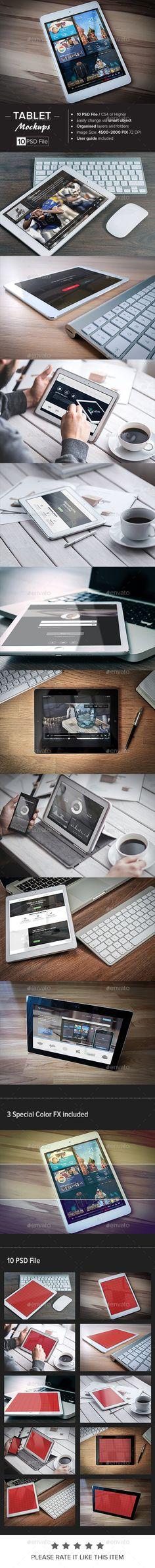 Tablet Mock-Up #ipad #presentation Download: http://graphicriver.net/item/tablet-mockup/11002940?ref=ksioks