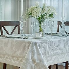 Waterford Damascus Tablecloth