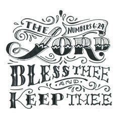 the lord bless thee and keep thee scripture - Google Search