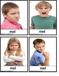 36 Emotions Photo Flash Cards Printable File Folder PDF by ...