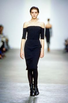 Calvin Klein Collection Fall 1998 Ready-to-Wear Fashion Show - Michele Hicks