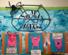 Great work by Sally Smith! Went above and beyond my expectations! Third Grade Writing, 2nd Grade Ela, Grade 2, Second Grade, Book Projects, School Projects, School Ideas, County Fair Projects, Charlottes Web Activities