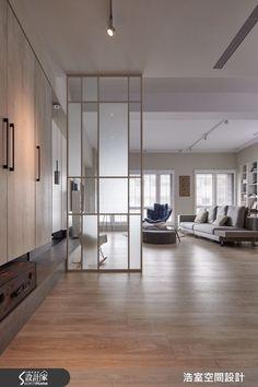 Living Room Partition, Room Partition Designs, Home Room Design, Living Room Designs, House Design, Divider Design, Interior Architecture, Interior Design, Office Interiors