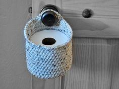 Spare Roll Holder Space Saver Tür Knob WC von AandBDesignStudio