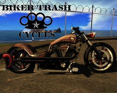 Second Life Marketplace - Biker Trash Cycles - Sinner **Only $1500L**