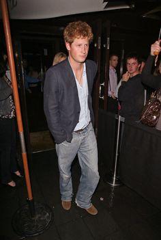 Prince Harry Photos: Prince Harry and Chelsy Davy Leaving Boujis Nightclub