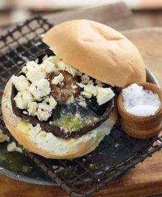 Mushroom burgers