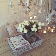 Quite lovely and shabby chic.