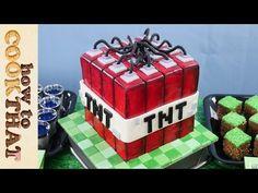 Minecraft slime balls, grass blocks and TNT cake - HowToCookThat :. Minecraft Cake, Minecraft Party, Baking Soda Slime, Bubblegum Slime, Best Edibles, Edible Slime, Easy Slime Recipe, Homemade Slime, Creative Desserts