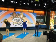 Pure Barre on the TODAY Show: Carrie Shows Kathie Lee & Hoda How to Tone Their Arms - Pure Barre