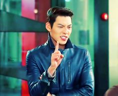 The amount of sass in the photo is epic!!!!  Kim Woo Bin as Choi young do ♡ #Kdrama // The #HEIRS