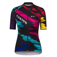 Rapha's Women's Core Jersey reworked in CANYON//SRAM colours – the new standard in performance, comfort and value.