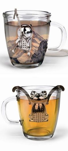 Cliff Climber & Frog Tea Infuser //