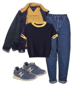 """Untitled #94"" by naturealy ❤ liked on Polyvore featuring Boutique, WithChic and New Balance"