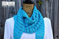 If you loved the Naturally Southern Scarf....you'll think the Naturally Southern Shawl is the BEST! Have fun crocheting a lightweight project!