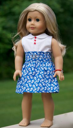 18 inch American Girl Doll Clothing. Peter Pan by Simply18Inches
