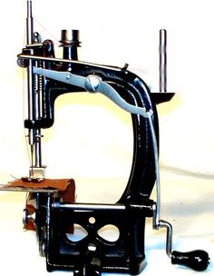 The Spenser Sewing Machine was obviously a Smith & Egge clone