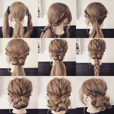 mint_yamaguchi | braid hair arrange
