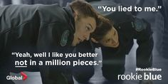 Nick is such a good person! Rookie Blue Season 5 Episode 10 Nick and Andy