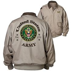 Army Forever Men's Twill Jacket