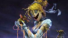 ' Twisted Princess Cinderella W ' by Omri Koresh Evil Princess, Dark Princess, Princess Disney, Disney Girls, Disney Horror, Zombie Disney, Twisted Disney Princesses, Dark Disney, Dark And Twisted
