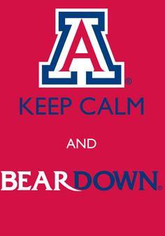 Yess!!! Bear Down Arizona!