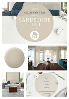 2018 Color Of The Year From Dutch Boy Paint Is Sandstone