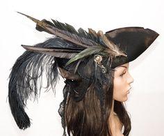 Pirateshat chapeau pirate tricorne Carnaval Carnaval Fedora jeu captain Pirate