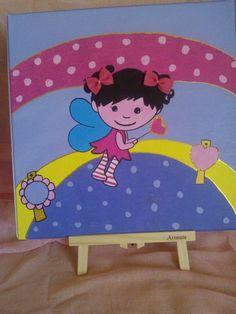 Fairytale acrylic painting....