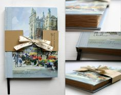 Notebook with handmade colored paper!  #pracowniazeszytow #notebooksdesign