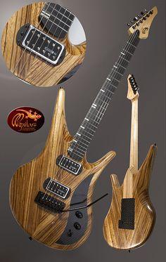 Pedersen Guitars Manta with Kinman pickups