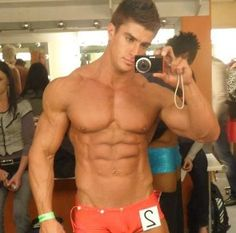 Jaco de Bruyn, backstage at the Mr Body Beautiful 2011 contest, Mr Physique category