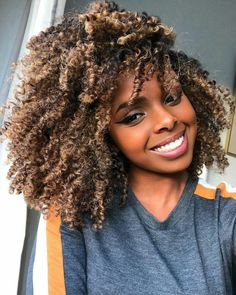 Gray Wigs Hair Gray Hair Treatment For MenFrom Brown To Grey Hair – wigsshortYou can find Kinky hair and more on our website. Dyed Natural Hair, Natural Hair Care, Dyed Hair, Natural Hair Styles, Natural Hair Highlights, Colored Natural Hair, Long Curly Hair, Curly Hair Styles, Curly Afro