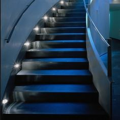Automatic Stair Lighting: Automatic light stairs with motion sensors, Automatic lighting, Illumination of stair steps, Installation options, Lighting installation. Stair Lighting, Stair Steps, Light Installation, Alternative Energy, Smart Home, Beautiful Homes, Living Room Decor, Stairs, Home Decor