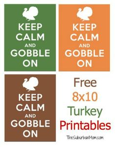 Keep Calm and Gobble