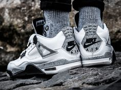 Nike Air Jordan 4 - White/Cement - 2016 (by ginogold)