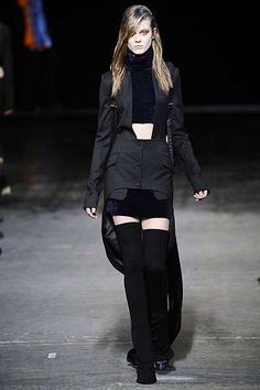 The Classic Staple Gets an Edgy Spin for Fall #velvet #fashion trendhunter.com i love this outfit.