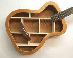 guitar shelf 8 by aRRtstudios on Etsy