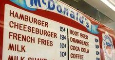Image result for 1970 roller rink menu
