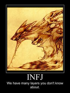 Perfect picture to depict LAYERS!  The INFJ Den