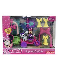 Look at this #zulilyfind! Fisher-Price Disney 'Minnie Day at the Pet Park' Toy by Fisher-Price #zulilyfinds