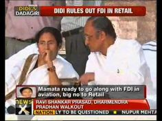 West Bengal Chief Minister and Trinamool Congress chairperson Mamata Banerjee left for New Delhi on Tuesday to attend a meeting of the United Progressive Alliance (UPA) coordination committee on Wednesday. Her decision assumes significance in view of the party's continued opposition to foreign direct investment in the multi-brand retail sector, and forward trading — issues that the UPA government is trying to put through