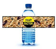 Fear Factor bottle labels