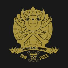 Thousand Sunny Logo One Piece Anime